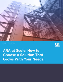 ARA at Scale: How to Choose a Solution That Grows With Your Needs