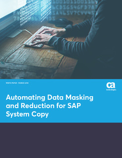 Automating Data Masking and Reduction for SAP System Copy