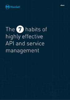7 Habits APIs and Services