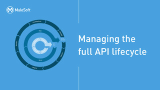 Managing the Full API Lifecycle