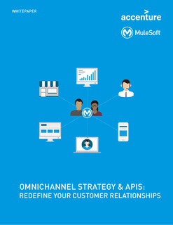 Omnichannel Strategy & APIs