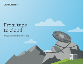 From tape to cloud: The journey to efficient backup