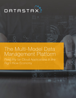 The Multi-Model Data Management Platform