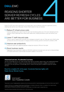 Reasons Shorter Server Refresh Cycles are Better for Business