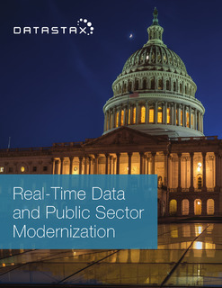 Real-Time Data and Public Sector Modernization