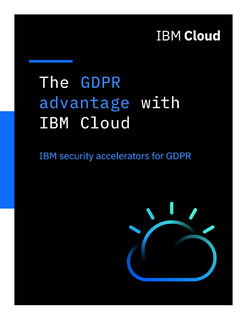 The GDPR advantage with IBM Cloud