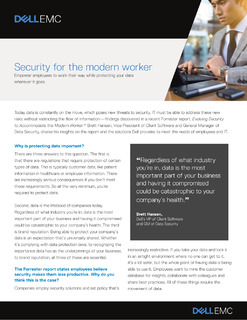 Security for the Modern Worker