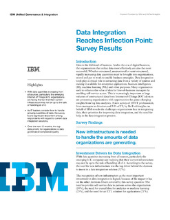 Data Integration Reaches Inflection Point