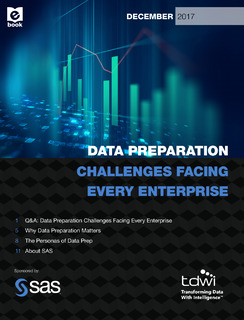 TDWI: Data Preparation Challenges facing every organization