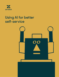Using AI for Better Self-Service