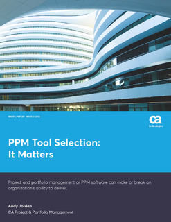 PPM Tool Selection: It Matters