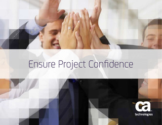 Ensure Project Confidence
