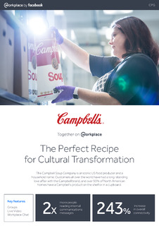 The Perfect Recipe for Cultural Transformation with The Campbell Soup Company (Case Study)