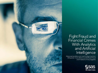 Fight Fraud and Financial Crimes with Analytics and AI