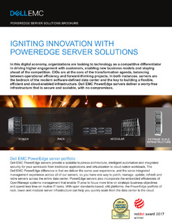 Dell EMC PowerEdge Server Solutions Brochure