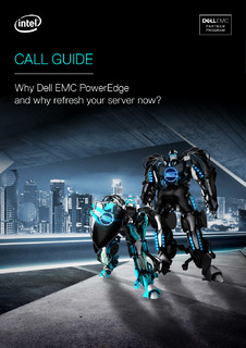 Call Guide: Why Dell EMC PowerEdge and why Refresh Your Server Now?