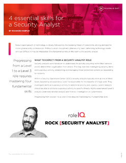 4 essential skills for a Security Analyst
