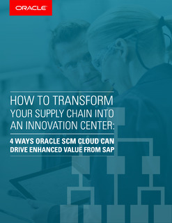 How To Transform Your Supply Chain Into An Innovation Center