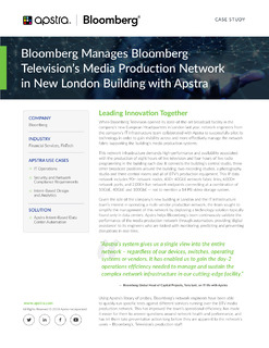 Apstra Bloomberg Case Study
