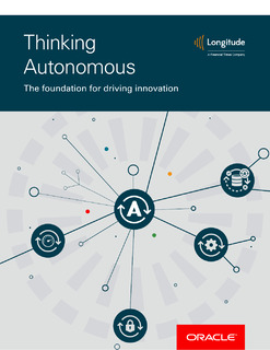 Thinking Autonomous – The foundation for driving innovation