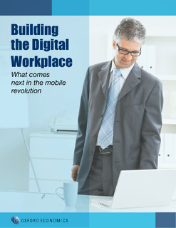 Building the digital workspace (Oxford Economics)