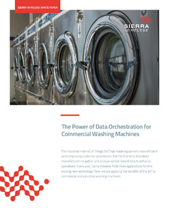 The Power of Data Orchestration for Commercial Washing Machines