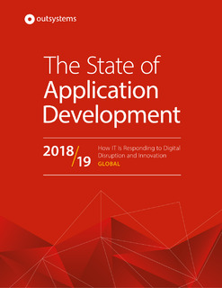 The State of Application Development