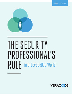 The Security Professional's Role in a DevSecOps World