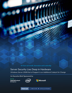 Frost and Sullivan: Server Security Lies Deep in Hardware