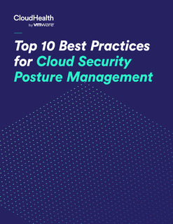 Top 10 Best Practices for Cloud Security Posture Management