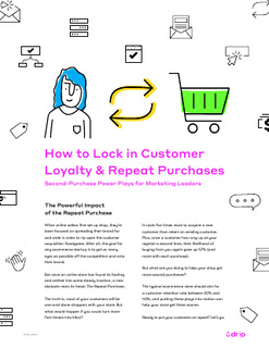 How to Lock in Customer Loyalty & Repeat Purchases