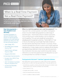 When Is a Real-Time Payment Not a Real-Time Payment?
