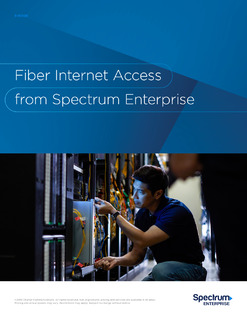 Fiber Internet Access from Spectrum Enterprise