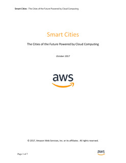 The Cities of the Future Powered by Cloud Computing