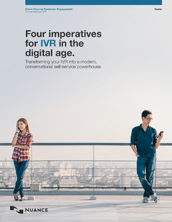 Four Imperatives for IVR in the Digital Age