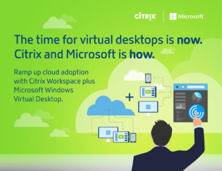 The Time for Virtual Desktops is Now. Citrix and Microsoft is How.