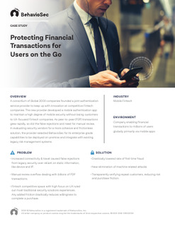 Protecting Financial Transactions for Users on the Go