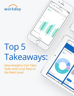 Top 5 Takeaways – How Analytics Can Take State and Local Data to the Next Level