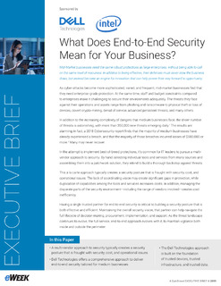 What Does End-to-End Security Mean for Your Business?
