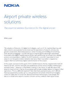 Airport private wireless solutions