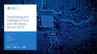 Developing the Intelligent Core with Windows Server 2019