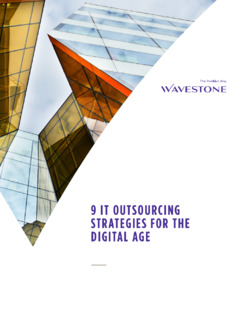 9 IT Outsourcing Strategies for the Digital Age