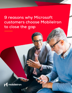 9 Reasons Why Microsoft Customers Choose Mobile to Close the Gap