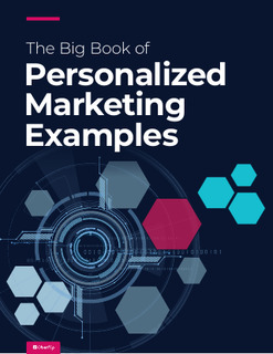 The Big Book of Personalized Marketing Examples
