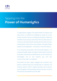 Tapping into the Power of Humanlytics