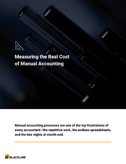 Measuring the Real Cost of Manual Accounting