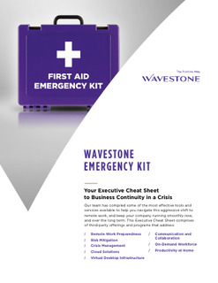 Wavestone Emergency Kit