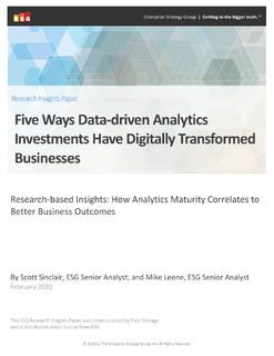5 Ways data-driven analytics investments have digitally transformed businesses