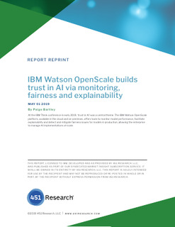 How can IBM Watson OpenScale help you scale AI and how does it compare to its competition