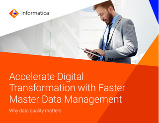 Accelerate Digital Transformation with Faster Master Data Management